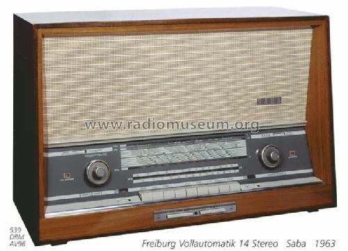 Service Manual-anleitung Für Saba Stereo-rundfunk-einsatz 14 Tv, Video & Audio