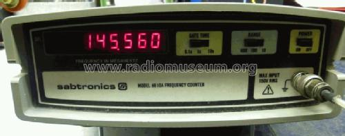 Frequency Counter Model 8110A; sabtronics inc;Tampa (ID = 1320070) Equipment