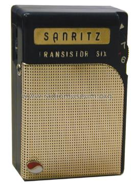 Sanritz - Transistor Six 6A-4; Sanritsu Electric Co (ID = 1307282) Radio