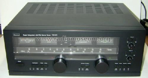 AM/FM Stereo Tuner TU-X1; Sansui Electric Co., (ID = 744922) Radio