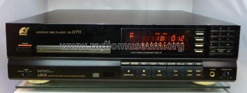 Compact Disc Player CD-X711; Sansui Electric Co., (ID = 1936049) R-Player