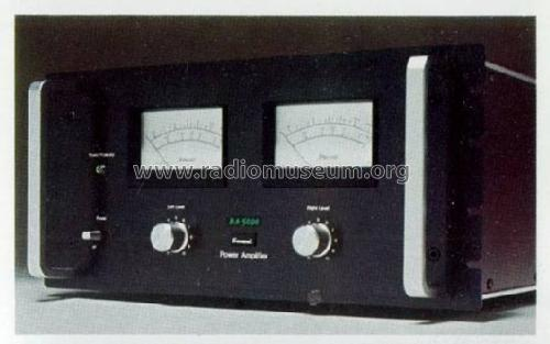 Definition BA5000; Sansui Electric Co., (ID = 566317) Ampl/Mixer