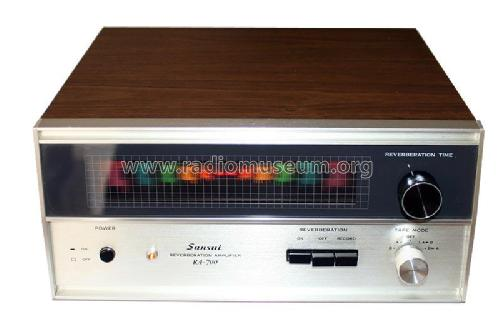Reverberation Amplifier RA-700; Sansui Electric Co., (ID = 1945859) Ampl/Mixer