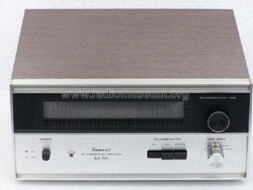 Reverberation Amplifier RA-700; Sansui Electric Co., (ID = 560547) Ampl/Mixer
