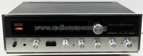 Stereo Tuner Amplifier 2000; Sansui Electric Co., (ID = 2077815) Radio