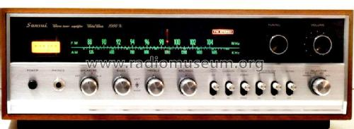 Stereo Tuner Amplifier SAX-1000X; Sansui Electric Co., (ID = 2077624) Radio