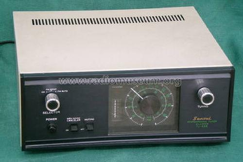 Stereophonic Tuner Solid State TU-555; Sansui Electric Co., (ID = 1183606) Radio