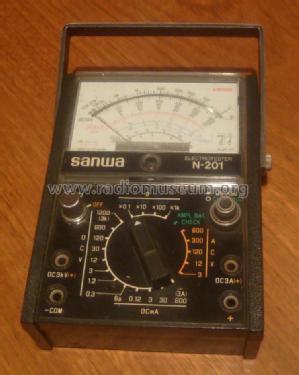 Analog Multimeter N-201 Equipment Sanwa Electric Instrument