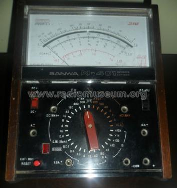 Analog Multimeter N-401F Equipment Sanwa Electric Instrument