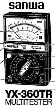sanwa yx360trf schematic