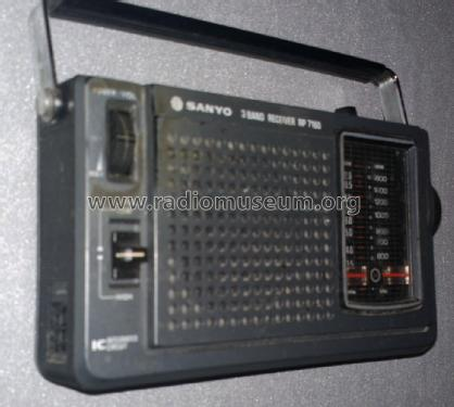 3 Band Receiver RP7160; Sanyo Electric Co. (ID = 1747699) Radio