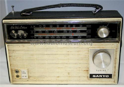 All Wave Deluxe ; Sanyo Electric Co. (ID = 1089254) Radio