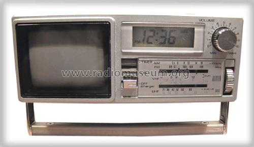 AM/FM Quartz Clock Radio & TV TPM2170; Sanyo Electric Co. (ID = 500318) TV Radio