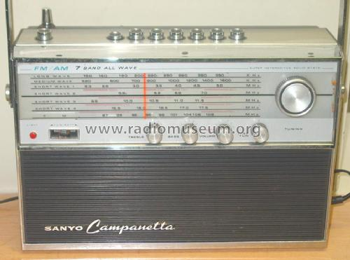 Campanetta 16HA-860; Sanyo Electric Co. (ID = 107696) Radio