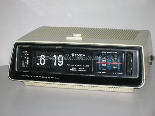 digital 2 band clock radio rm 5010 radio sanyo electric co rh radiomuseum org