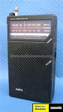 AM/FM 2 Band Receiver RP-5065D; Sanyo Electric Co. (ID = 689410) Radio