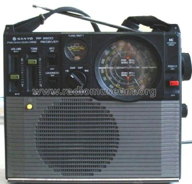 RP-8600; Sanyo Electric Co. (ID = 624965) Radio
