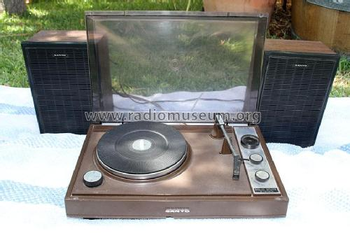 Stereo Phonograph DS-50T; Sanyo Electric Co. (ID = 1761035) Ampl/Mixer