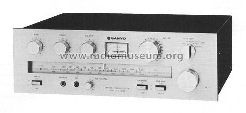 AM/FM Stereo Receiver DCX 1515K; Sanyo Electric Co. (ID = 2048076) Radio