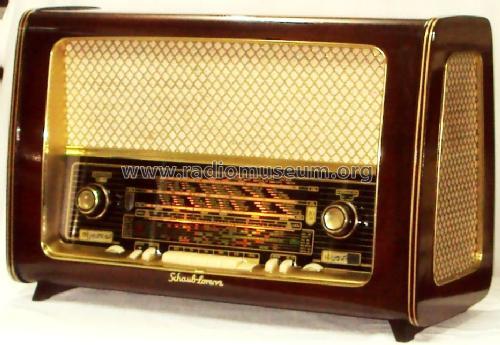 Großartig Goldsuper W32 Type 3059 Radio Schaub und Schaub-Lorenz, buil ZA56