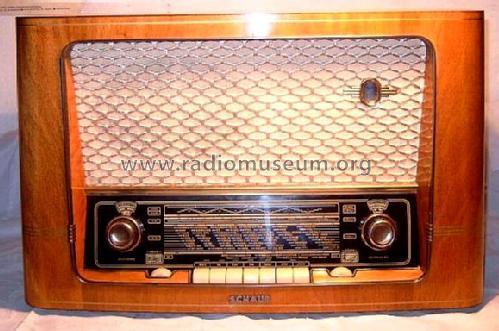 Erstaunlich Goldsuper W36 4030 Radio Schaub und Schaub-Lorenz, build RF94