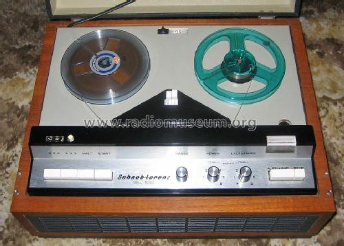 Hervorragend SL100 R-Player Schaub und Schaub-Lorenz, build 1965– ON34