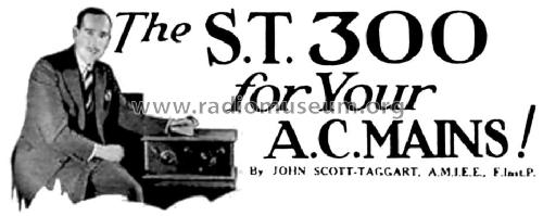 ST300; Scott - Taggart (ID = 1519415) Kit