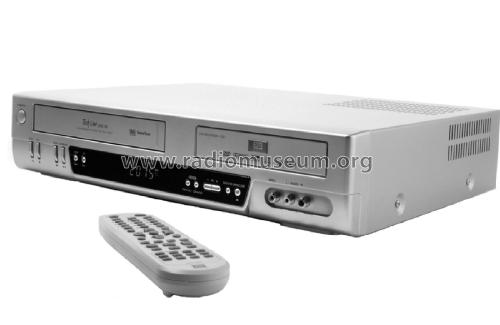 DVD Recorder + VCR - Tech Line DVRC 700 DF-T3712S-SA/W; Unknown Worldwide (ID = 2026511) R-Player