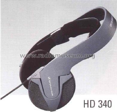 Stereo Kopfhörer HD340; Sennheiser (ID = 663531) Speaker-P