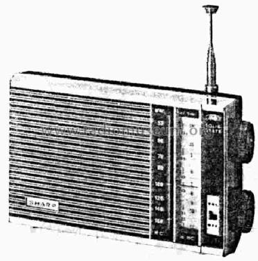 BX-392 ; Sharp; Osaka (ID = 639000) Radio