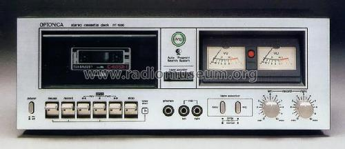 Optonica Stereo Cassette Deck RT-1030; Sharp; Osaka (ID = 648759) R-Player