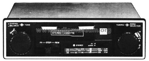Rg 5300e Car Radio Sharp  Osaka  Build 1976     1 Pictures