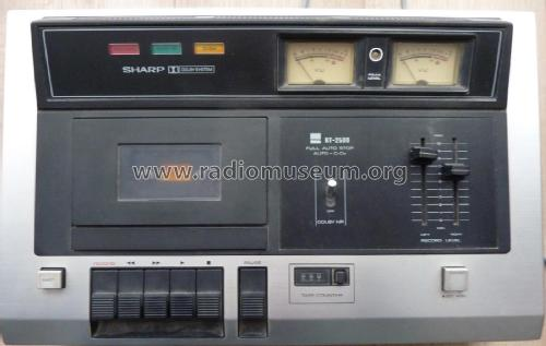 Stereo Tape Deck RT-2500H; Sharp; Osaka (ID = 2211198) R-Player