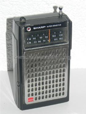 Super Sensitive FM/AM Portable Radio FX-213X; Sharp; Osaka (ID = 1072269) Radio