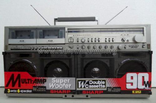 The Searcher 4 Band Stereo Radio Cassette Recorder GF-777 Z; Sharp; Osaka (ID = 1016672) Radio