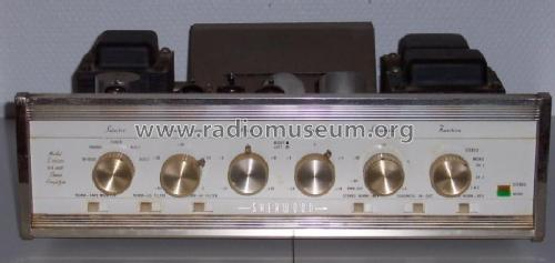 Stereo Amplifier S-5500 II ; Sherwood, Chicago (ID = 991694) Ampl/Mixer