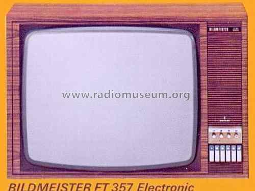 Bildmeister Electronic FT 357; Siemens; D S.& (ID = 1339140) Television