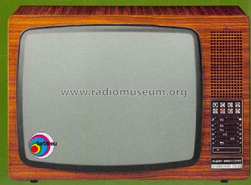 Bildmeister Superelectronic FC 375; Siemens; D S.& (ID = 1338396) Television
