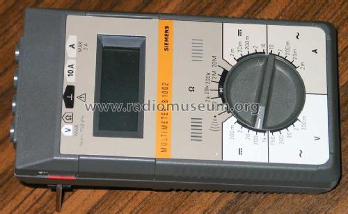 Multimeter B1002; Siemens; D S.& (ID = 1169159) Equipment
