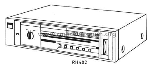 tuner rh 402 radio siemens  d s  u0026 halske    s  electroger u00e4te