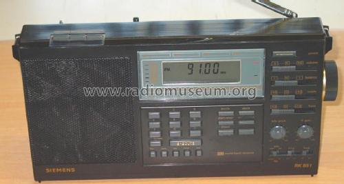 World Band Receiver RK651; Siemens; D S.& (ID = 116594) Radio