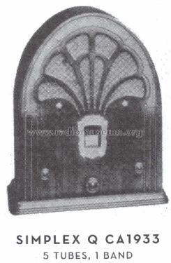 Q 1931 ; Simplex Radio Co. (ID = 1564865) Radio