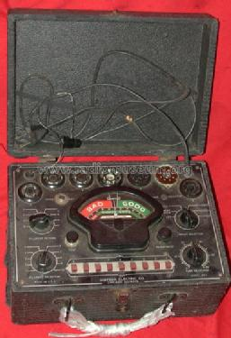 Tube Tester 333; Simpson Electric Co. (ID = 407911) Equipment