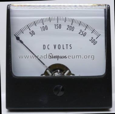 DC Volts Panel Meter 1227; Simpson Electric Co. (ID = 2186428) Equipment