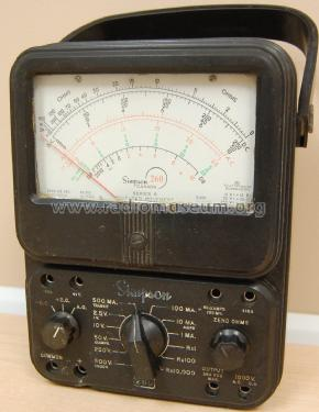 Volt-Ohm-Milliammeter 260 Series 6; Simpson Electric Co. (ID = 2579662) Equipment