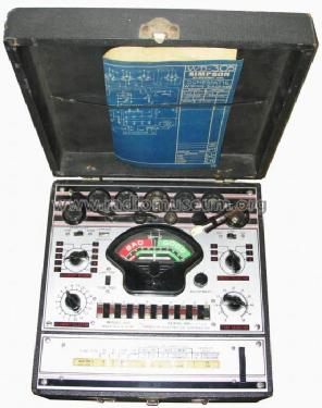 Tube Tester 305-RC; Simpson Electric Co. (ID = 187946) Equipment