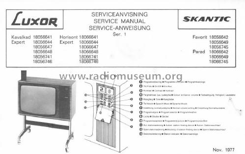 Favorit 5664; Skantic Radio AB, (ID = 1533628) Television