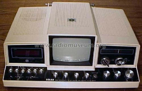 Solar sound systems 555x tv set fm am led digital clock radio uploaded