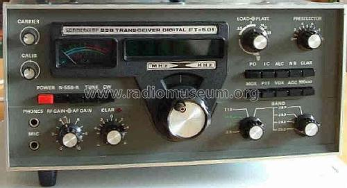 SSB Transceiver Digital FT-501; Sommerkamp (ID = 430648) Amat TRX