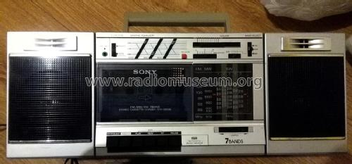 FM/AM Stereo Cassette Corder CFS-3000; Sony Corporation; (ID = 2160510) Radio